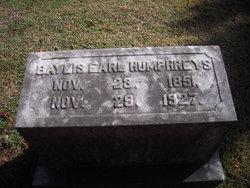 Baylis Earl Humphreys