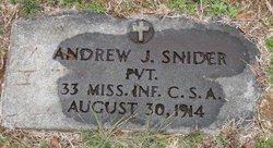 Andrew Jackson Snider