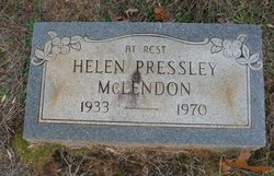 Helen Pressley McLendon