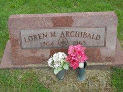 Loren M. Archibald
