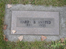 Rev Harry Bidwell Ansted