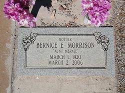 Bernice E Morrison