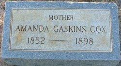 Amanda <i>Gaskins</i> Cox