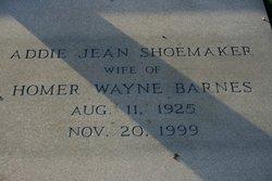 Addie Jean <i>Shoemaker</i> Barnes