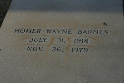 Homer Wayne Barnes