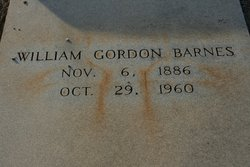 William Gordon Barnes