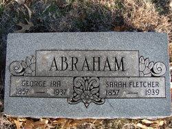 Sarah Fletcher <i>Claridge</i> Abraham