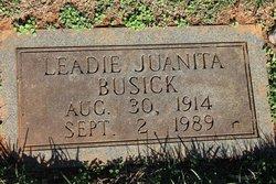 Leadie Juanita <i>Allen</i> Busick