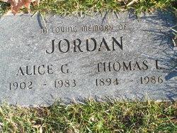 Alice G Jordan