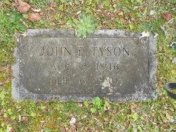 John E Tyson