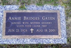 Annie <i>Bridges</i> Green
