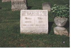 Minnie <i>Brinkman</i> Barnes