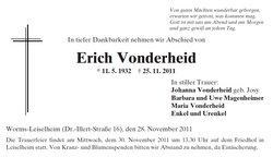 Erich Vonderheid