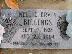 Nellie Virginia <i>Ervin</i> Billings