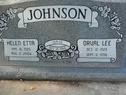 Helen Etta <i>Ellison</i> Johnson