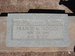 Francis Marion Frank Adcock, Jr