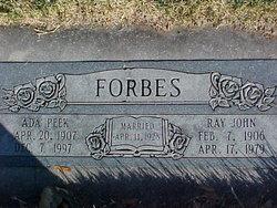 Ada Irene <i>Peek</i> Forbes