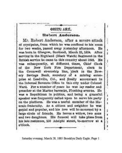 Robert Anderson, III