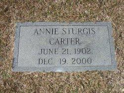 Annie <i>Sturgis</i> Carter