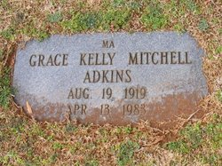 Grace Kelly <i>Mitchell</i> Adkins
