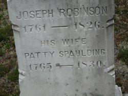 Patty <i>Spaulding</i> Robinson