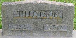 Ora H Tillotson