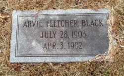 Arvie Fletcher Black