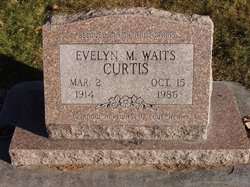 Evelyn Mary <i>Waits</i> Curtis