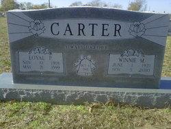 Winnie Mae <i>Farmer</i> Carter