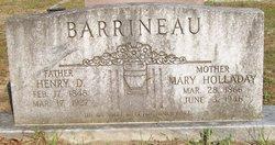 Mary Jane <i>Holladay</i> Barrineau