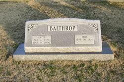 Allen Edward Edd Balthrop, Jr