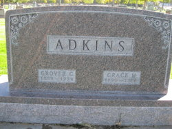 Grace M. <i>Roe</i> Adkins