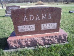 Ellen N. <i>Flook</i> Adams