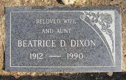 Beatrice D. <i>Forbes</i> Dixon