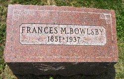 Frances <i>Miller</i> Bowlsby
