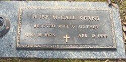 Ruby Catherine <i>McCall</i> Kerns