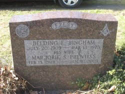 Marjorie Sylvia <i>Prentiss</i> Bingham