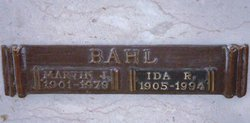Ida Rae <i>Bixler</i> Bahl