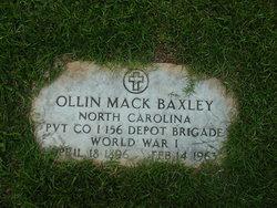 Ollin Mack Baxley