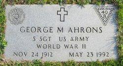 George M. Ahrons
