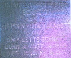 Charles Waterbury Bennett, I