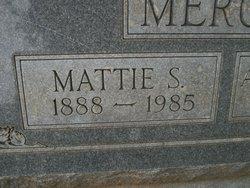 Mattie <i>Smith</i> Mercer