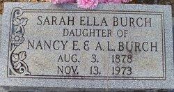 Sarah Ella Burch