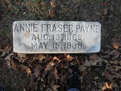 Annie <i>Fraser</i> Payne