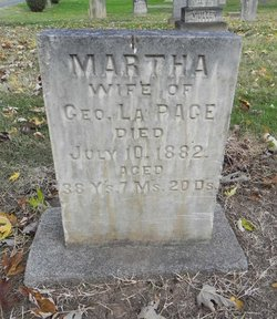 Martha <i>Waterworth</i> La Page