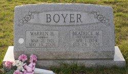 Beatrice Mary <i>Gerberich</i> Boyer