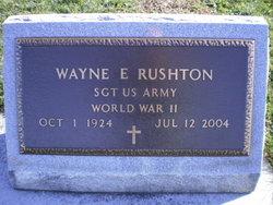 Wayne Ellis Rushton