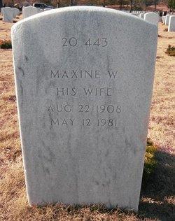 Maxine Miller <i>Walker</i> Vanlandingham
