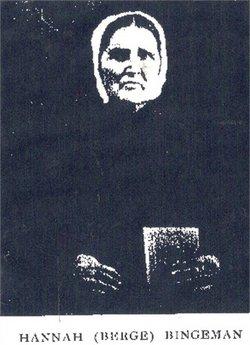 Hannah S. <i>Bergey</i> Bingeman