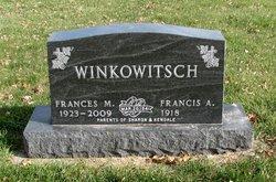 Frances M. <i>Mennen</i> Winkowitsch